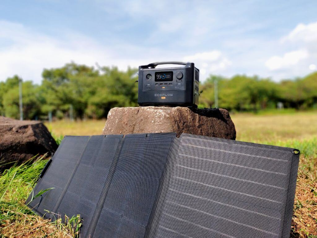 Panneau Solaire, Batterie Eco Flow River Pro