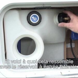 Bouchon, Cuve d'eau propre, Tank O3