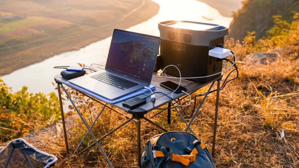 Ecoflow Delta, Macbook