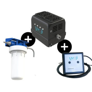 Kit 2 en 1, filtre UV et écran déporté